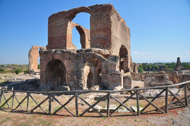 Archäologische Fundstätte Rom, Landhaus dei Quintili, Appia Antica lizenzfreies stockbild