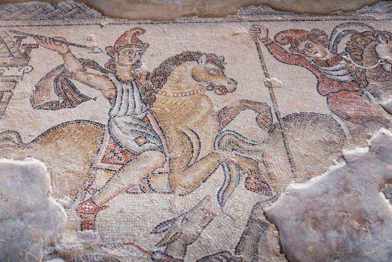Archäologische Fundstätte Tzipori lizenzfreie stockbilder