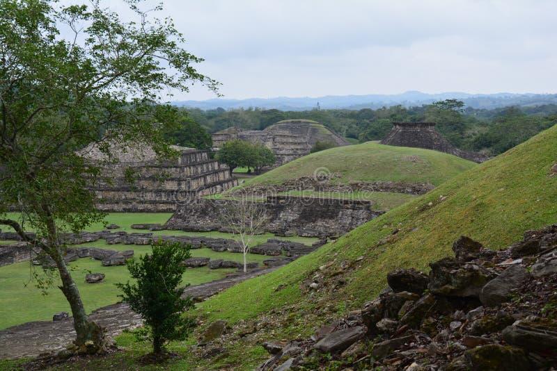 Archäologische Fundstätte Veracruz Mexiko EL Tajin lizenzfreies stockfoto