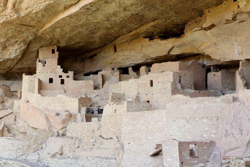 Archäologische Fundstätte von Mesa Verde stockbild