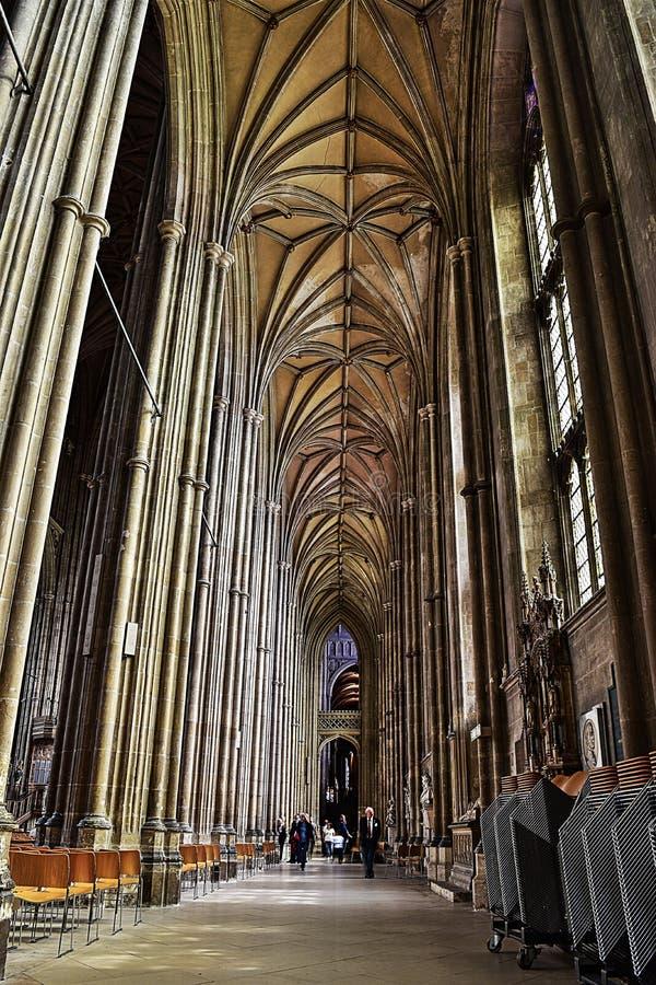 Arché della chiesa immagini stock