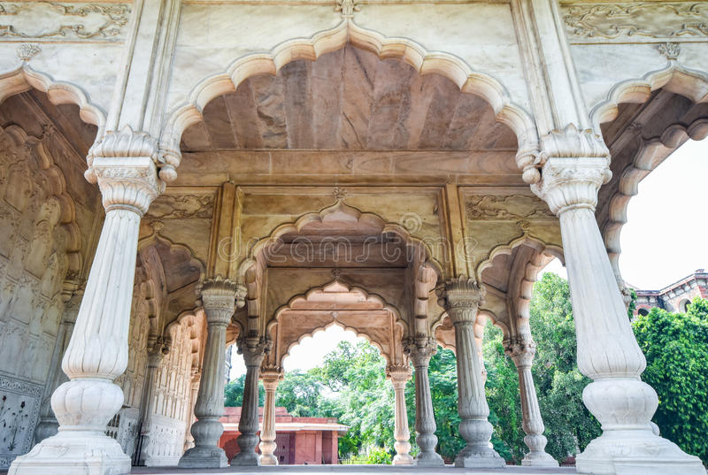 Arché indiani di stile fotografie stock libere da diritti
