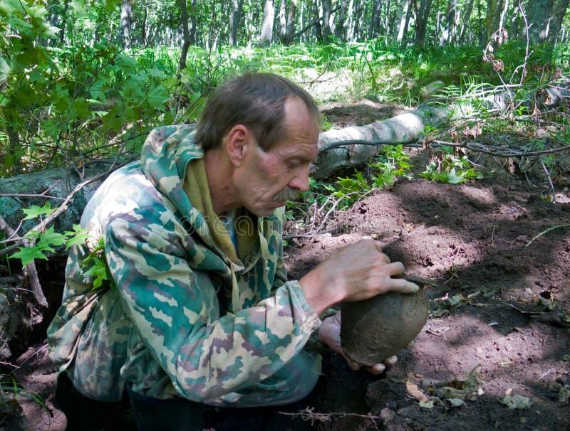 Archéologue 17 photos libres de droits