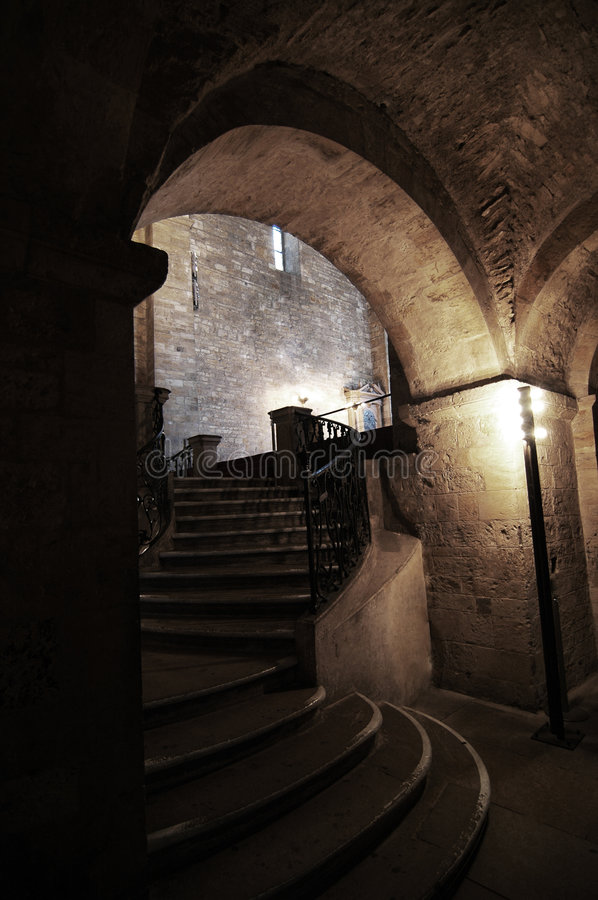 Download Arch stock image. Image of stair, medieval, romanesque - 455461