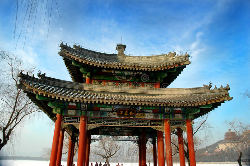 Download Arch stock photo. Image of summer, palace, winter, asian - 460496
