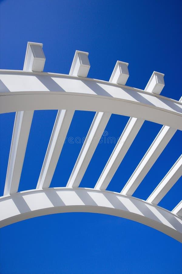 Arch of arbor. stock photos