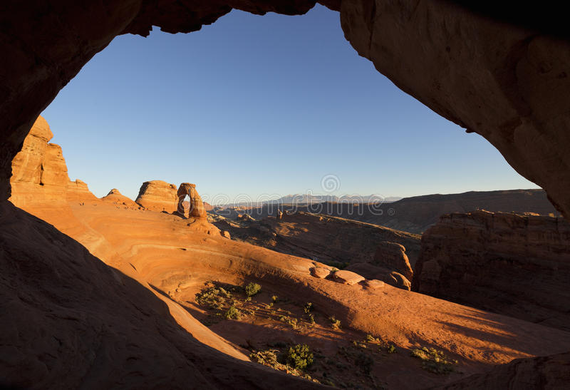 Arch, Arches National Park, Utah royalty free stock photography