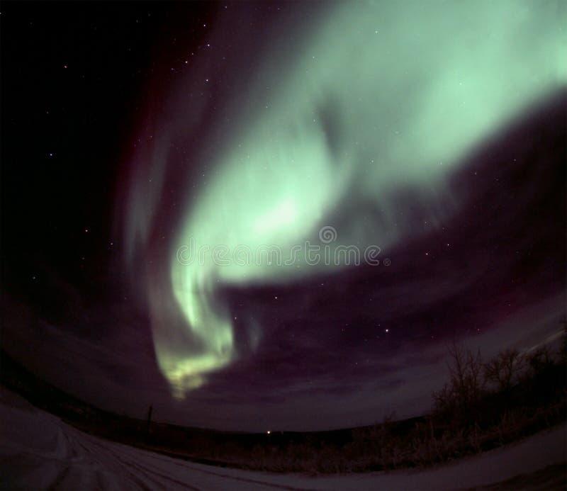 arch aurory fale obraz stock