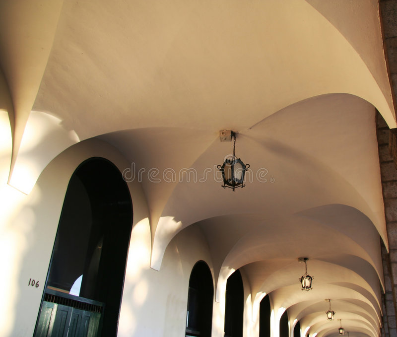 Arch ceil royalty free stock images