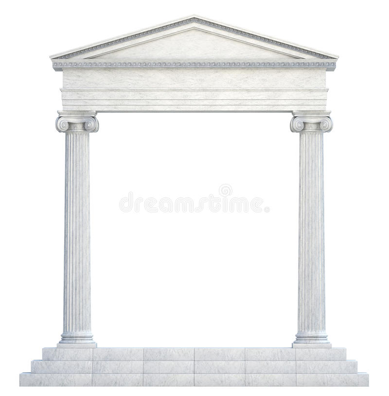 Arch Columns Stock Photo Image Of Culture Greece