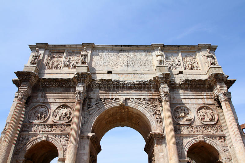 Download Arch of Constantine stock image. Image of city, palatine - 17857237
