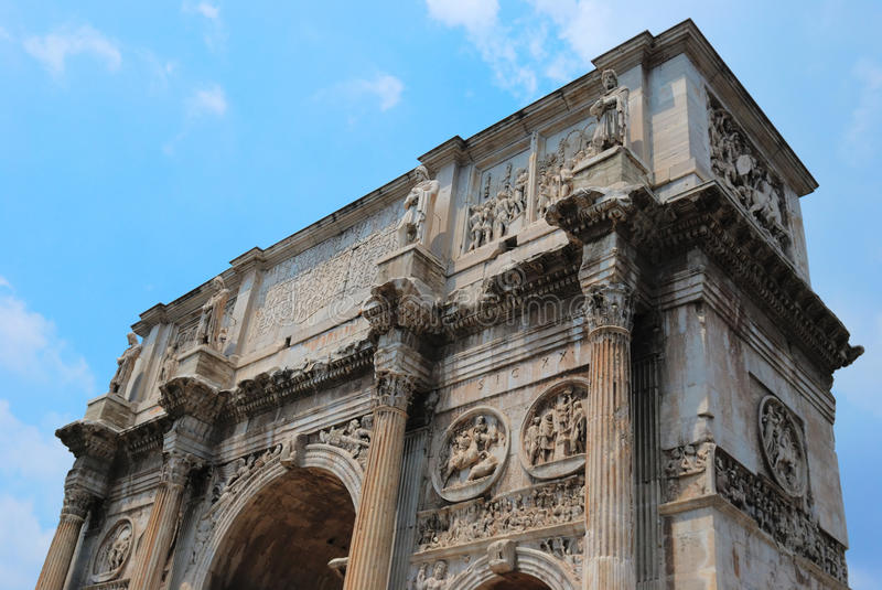 Download The arch of Constantine stock photo. Image of constantine - 18873900