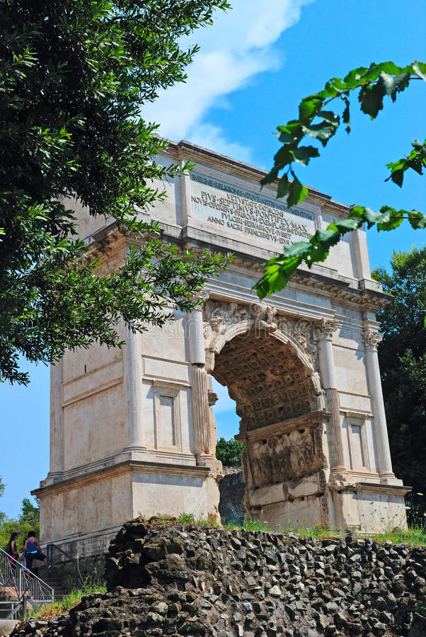 Download The arch of Constantine stock image. Image of clouds - 18874467