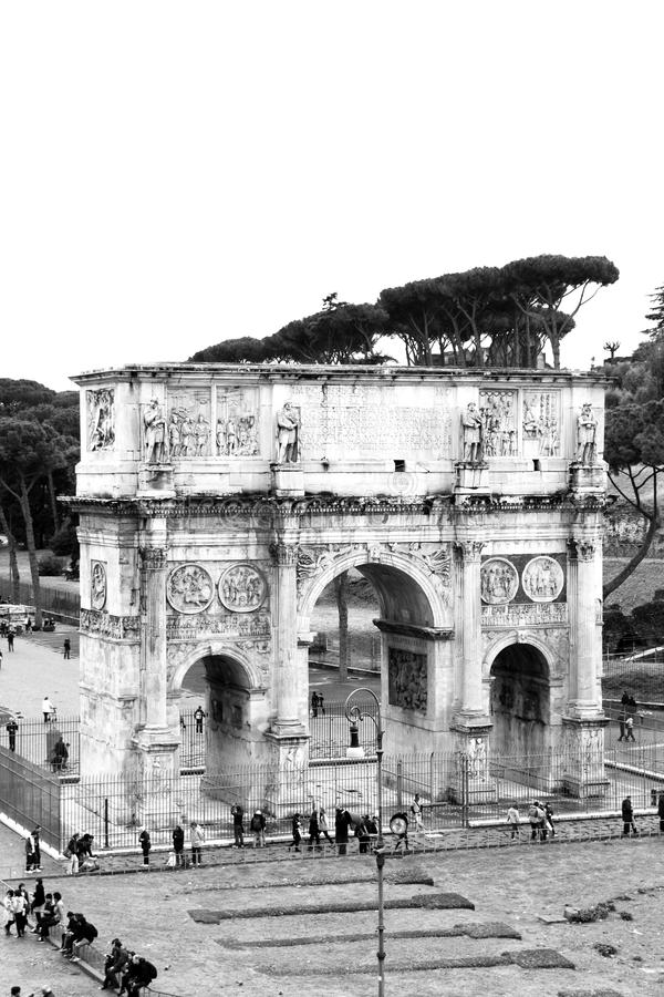 Download Arch of Constantine stock photo. Image of antique, marble - 20485620
