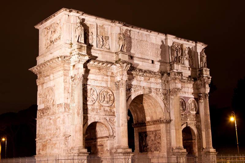 Download Arch Of Constantine In Rome Stock Photography - Image: 23762932