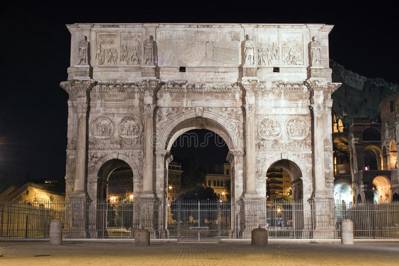 Download The Arch Of Cosntantine, Rome, Italy Stock Photo - Image: 32395100