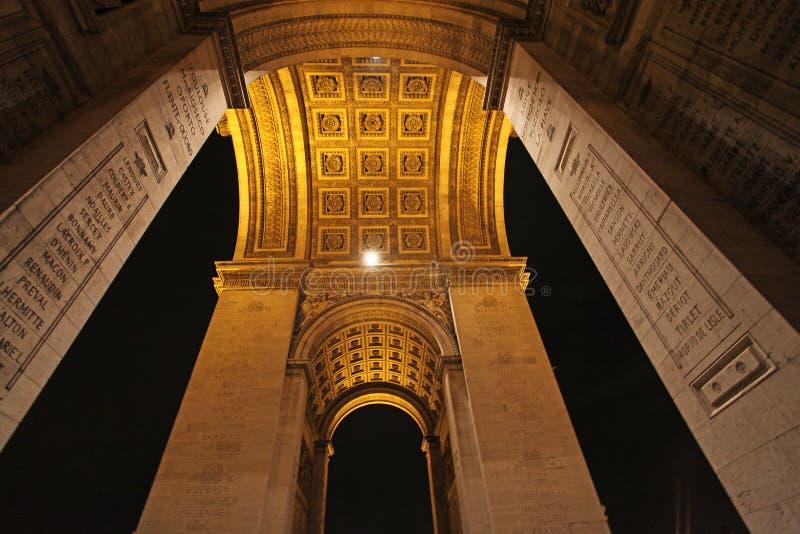 Arch de Truimph, Paris lizenzfreie stockfotografie