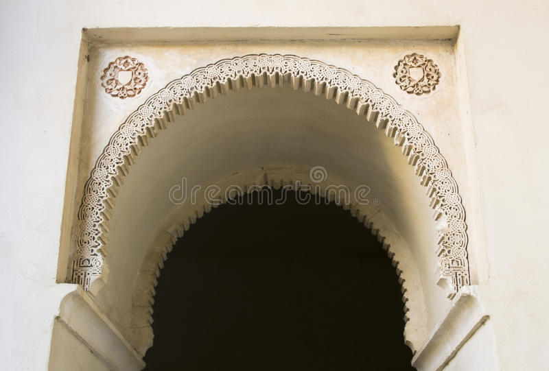 Arch gate citadel royalty free stock photo