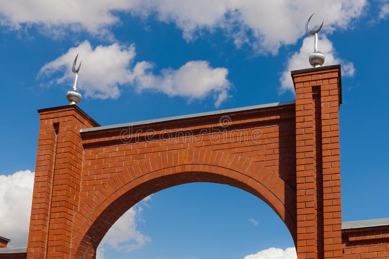 Download Arch Of Gate In A Mosque Stock Image - Image: 25323301