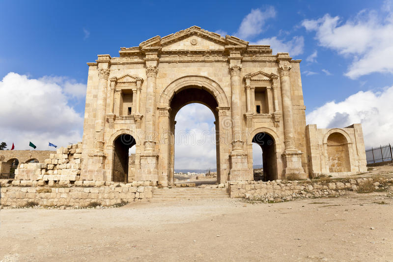 Download Arch of hadrian stock photo. Image of archeology, historic - 26769576