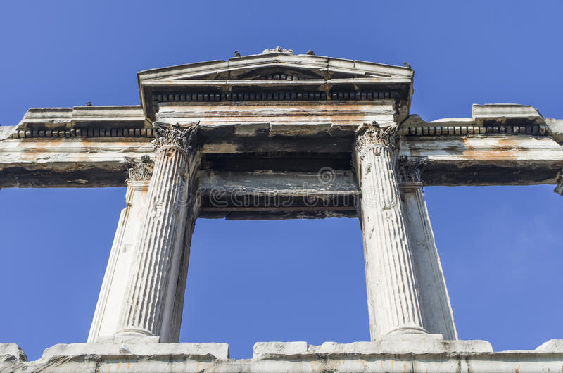 Download Arch of Hadrian in Athens stock photo. Image of greek - 30586726