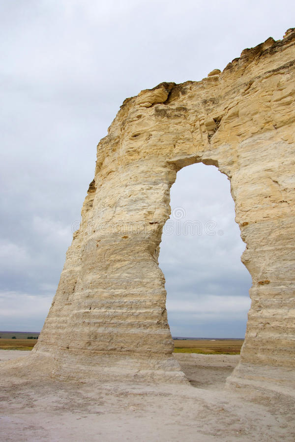 Arch of Monument Rocks stock image