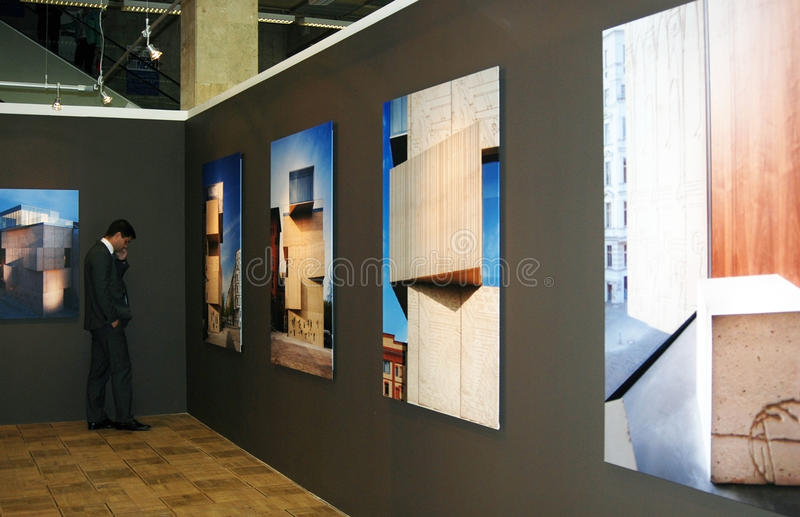 Download Arch Moscow Next! Exhibition Editorial Photography - Image: 31150652