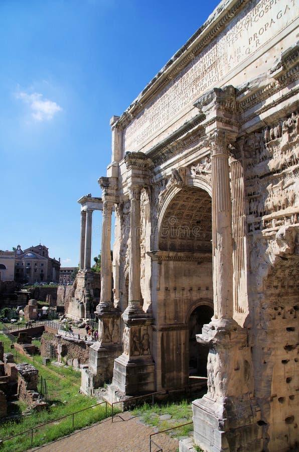 Free Arch Of Septimius Severus Rome Stock Photos - 29199873