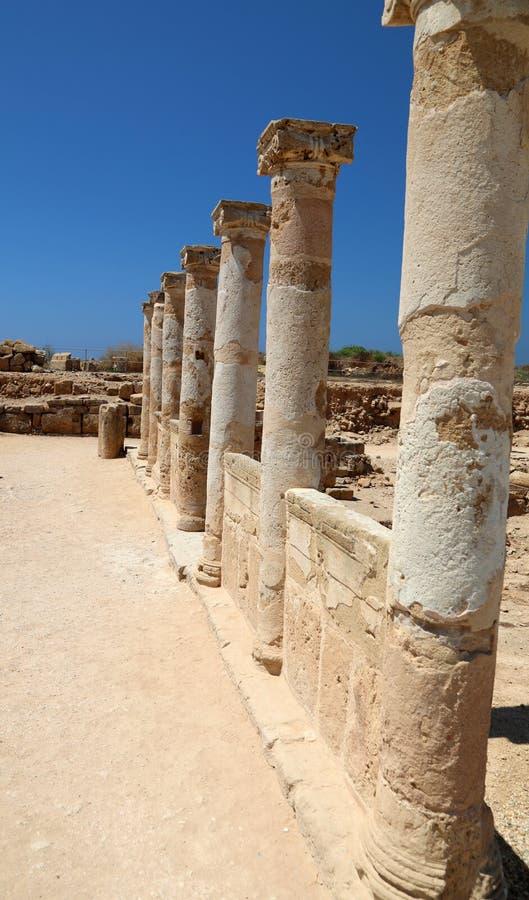 Arch?ologisches Museum in Paphos auf Zypern stockfoto