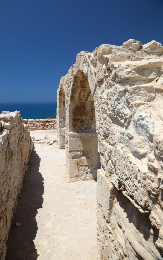 Arch?ologisches Museum in Paphos auf Zypern stockfotos
