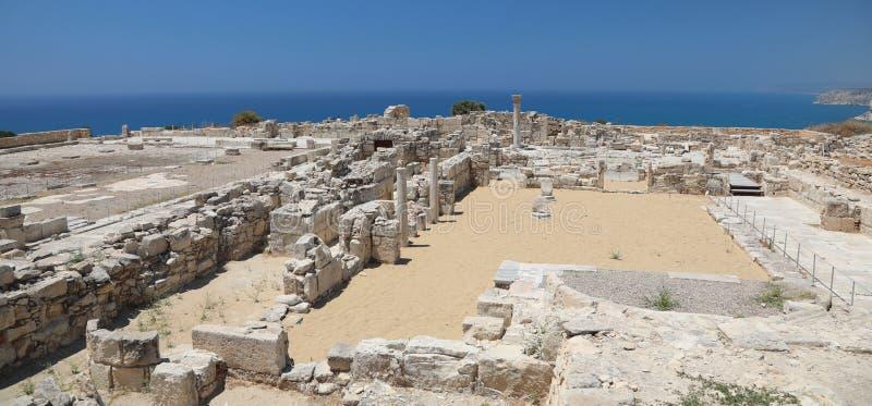 Arch?ologisches Museum in Paphos auf Zypern lizenzfreie stockfotos
