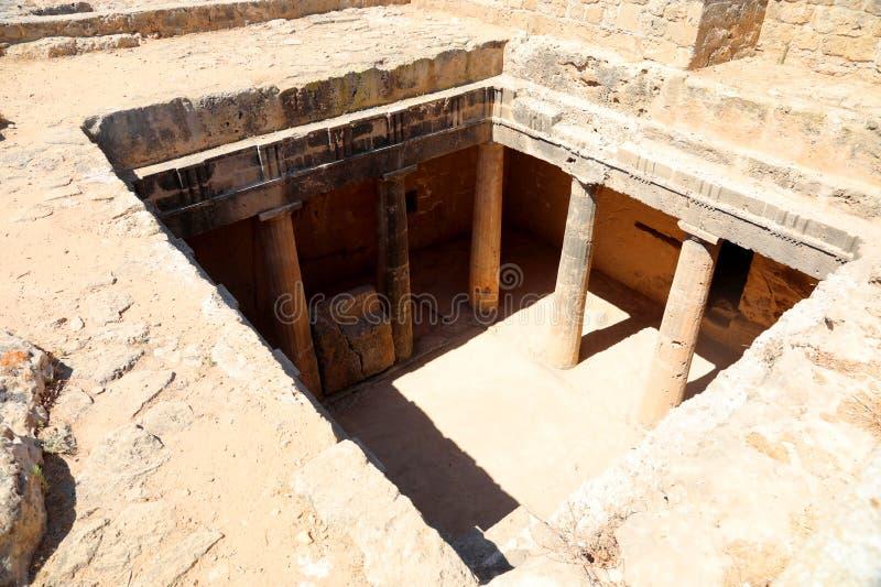 Arch?ologisches Museum in Paphos auf Zypern stockfotografie