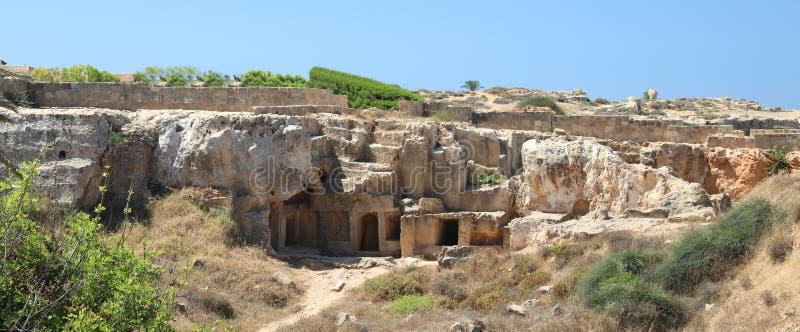 Arch?ologisches Museum in Paphos auf Zypern stockbild