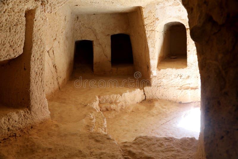Arch?ologisches Museum in Paphos auf Zypern lizenzfreies stockfoto