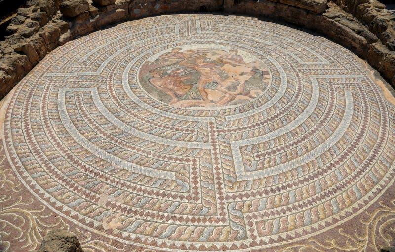 Arch?ologisches Museum in Paphos auf Zypern lizenzfreie stockfotografie