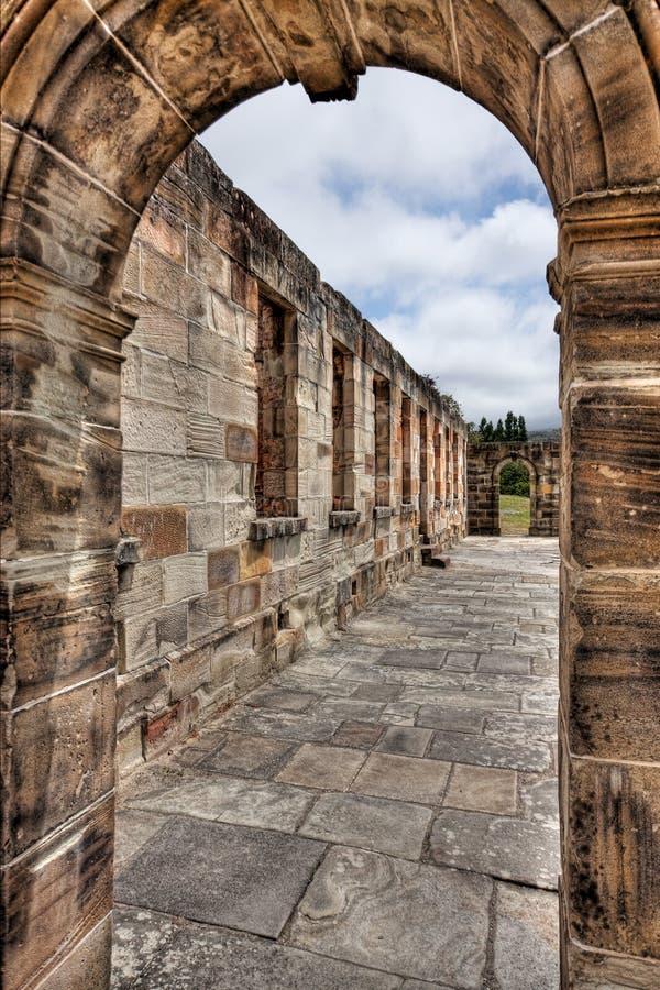 Arch at Port Arthur, Tasmania royalty free stock images