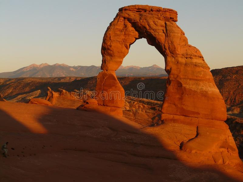 Arch, Rock, Natural Arch, Formation royalty free stock photography