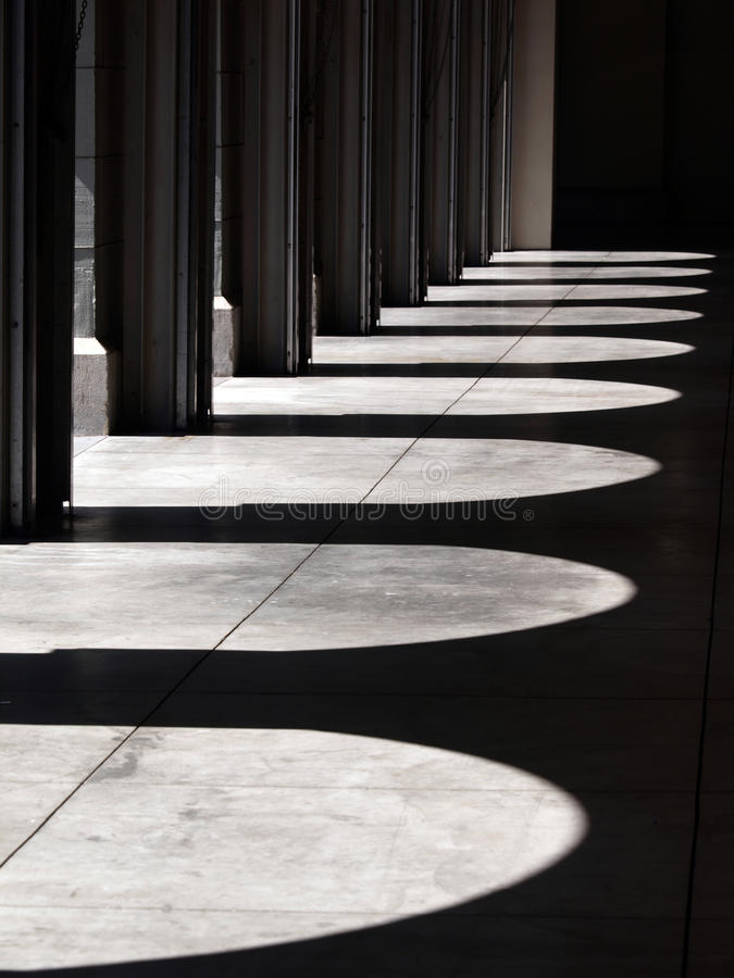 Arch shadow. This is a arch shadow royalty free stock image