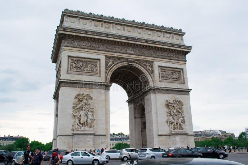 arch triumf fotografia royalty free