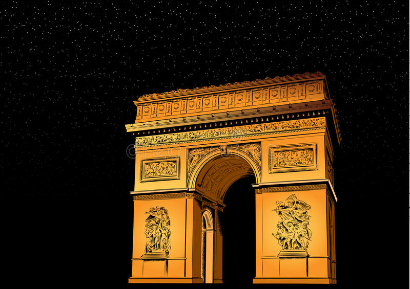Download Arch Of Triumph Royalty Free Stock Photos - Image: 21824148