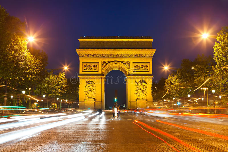 Download Arch Of Triumph, Paris, France Royalty Free Stock Photos - Image: 25755548
