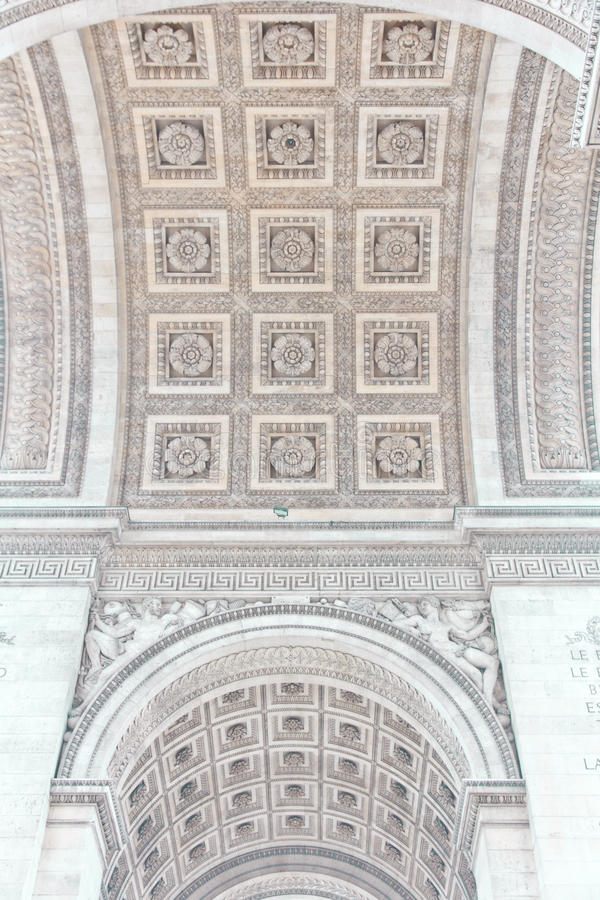 Download Arch Of Triumph Of Paris, France Stock Photo - Image: 27950976