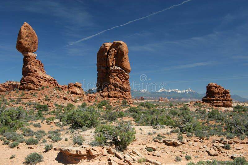 arch zrównoważonej park narodowy rock fotografia royalty free