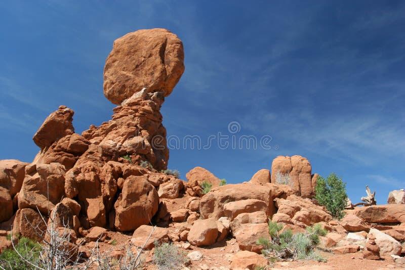 arch zrównoważonej park narodowy rock obrazy stock