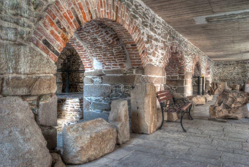 Archaeologic museum. In Kosice, Slovakia stock photo