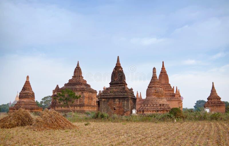 archaeological bagan myanmar zon royaltyfri fotografi