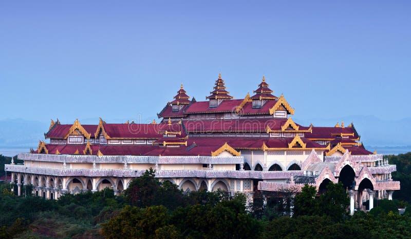 archaeological bagan myanmar zon royaltyfria bilder