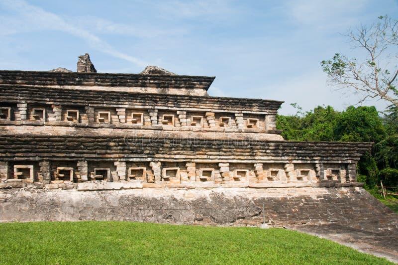 archaeological lokaltajin för el mexico arkivbilder