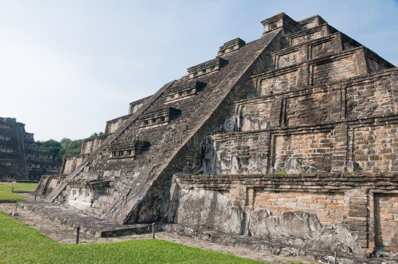archaeological lokaltajin för el mexico royaltyfri bild