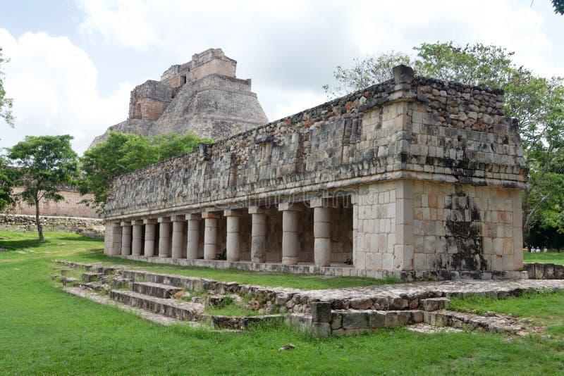 archaeological mexico lokal uxmal yucatan arkivfoton
